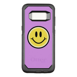 Yellow Smile OtterBox Commuter Samsung Galaxy S8 Case