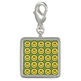 Yellow Smile Photo Charms