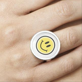 Yellow Smile Ring