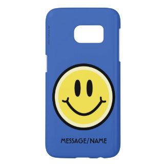 Yellow Smile Samsung Galaxy S7 Case