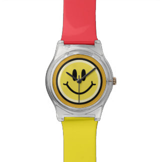 Yellow Smile Watch