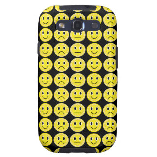 Yellow smiles samsung galaxy SIII cover