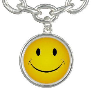 Yellow Smiley Bracelet
