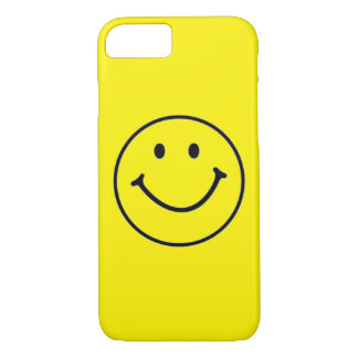 Yellow Smiley Face (Customizable) iPhone 8/7 Case