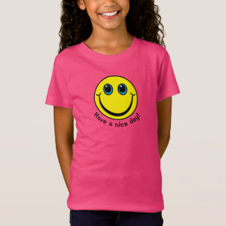 Yellow Smiley Face Have a nice day T-Shirt