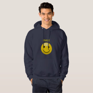 Yellow Smiley Hoodie