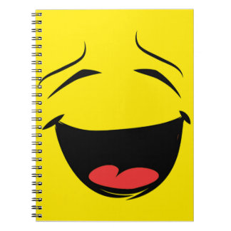 YELLOW SMILEY NOTEBOOK