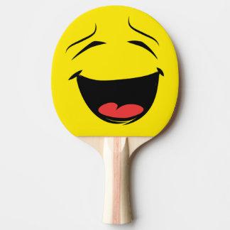 YELLOW SMILEY Ping-Pong PADDLE