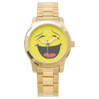 YELLOW SMILEY WATCH