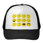 Yellow Smileys Trucker Hat
