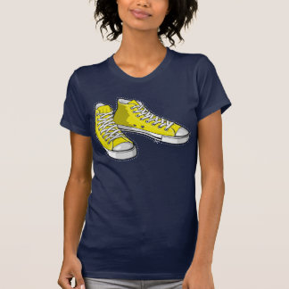 Yellow sneakers t-shirts