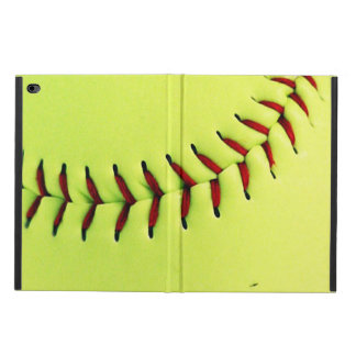 Yellow softball ball powis iPad air 2 case