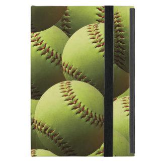 Yellow Softball Coating iPad Mini Cover