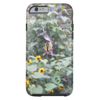 Yellow Spider iPhone Case