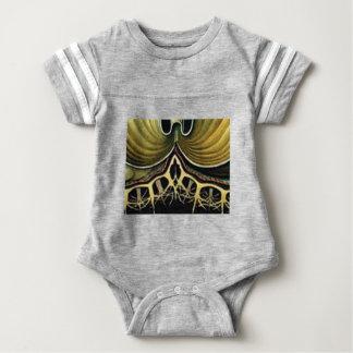 yellow spikes of wonder baby bodysuit