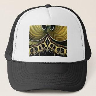 yellow spikes of wonder trucker hat