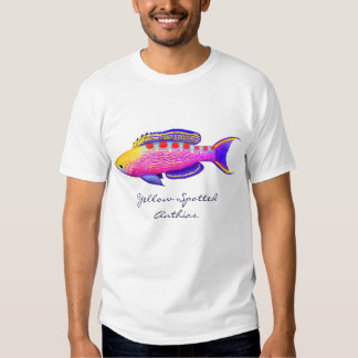 Yellow Spotted Anthias Coral Reef Fish T-Shirt