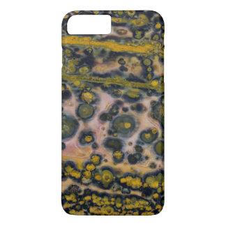Yellow spotted Ocean Jasper iPhone 8 Plus/7 Plus Case