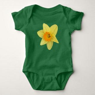 Yellow Spring Daffodil Baby Bodysuit