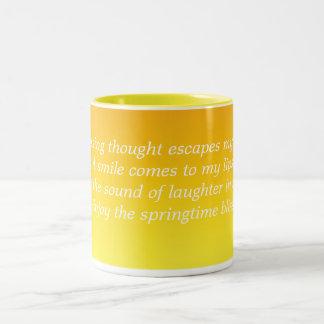 Yellow Springtime Mug