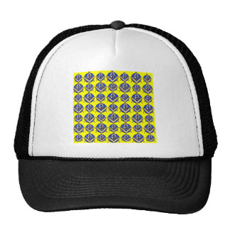 Yellow Square & Compass Trucker Hat