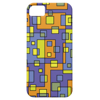 Yellow squares background iPhone 5 cover