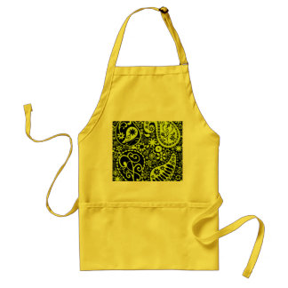 yellow standard apron
