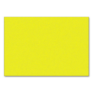 Yellow Star Dust Table Card