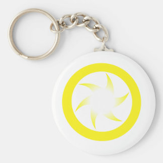 Yellow Star Keychain