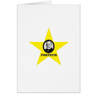 yellow star Pasteur Card