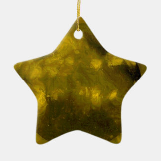 YELLOW Star RED Star Ceramic Star Ornament