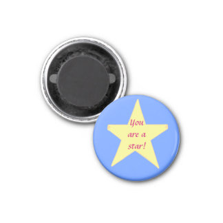 Yellow Star, You are a star Magnet