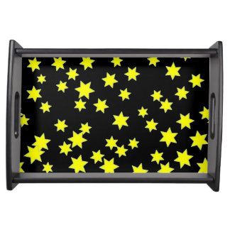 Yellow Stars Serving Tray