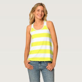 Yellow Stripe Tank Top
