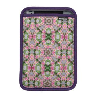 Yellow-Striped Pink Mandala iPad Mini Sleeve
