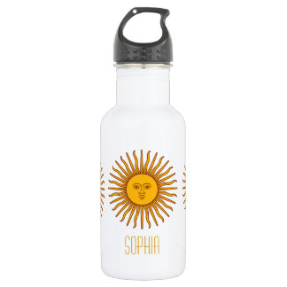 Yellow Sun Astrology Planet Personalized Name 532 Ml Water Bottle