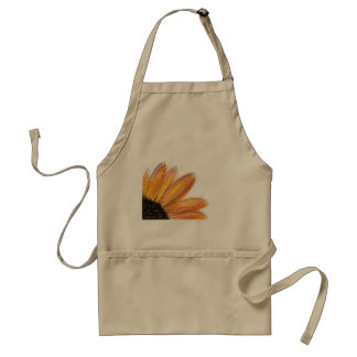 Yellow Sunflower Apron Adult