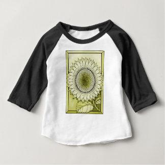 Yellow Sunflower Baby T-Shirt