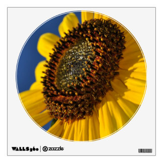 Yellow Sunflower, Blue Sky Wall Sticker