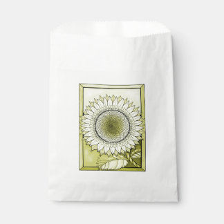 Yellow Sunflower Favour Bag