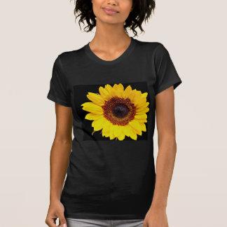 Yellow sunflower  flowers tee shirts