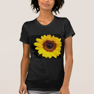 Yellow sunflower flowers tees