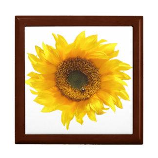 yellow sunflower gift box