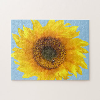 yellow sunflower jigsaw puzzle