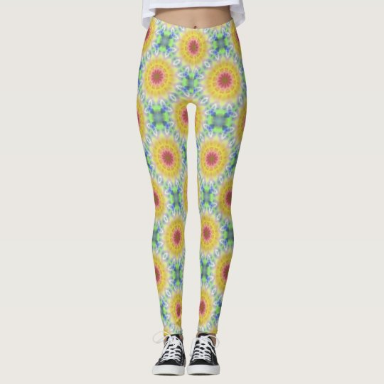 Yellow Sunflower Leggings