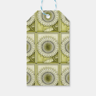 Yellow Sunflower Pack Of Gift Tags