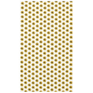 Yellow Sunflower Pattern Tablecloth