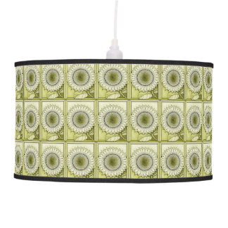 Yellow Sunflower Pendant Lamp