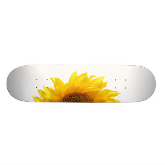 yellow sunflower skate boards
