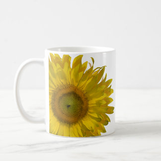 Yellow Sunflower Wedding Classic White Coffee Mug